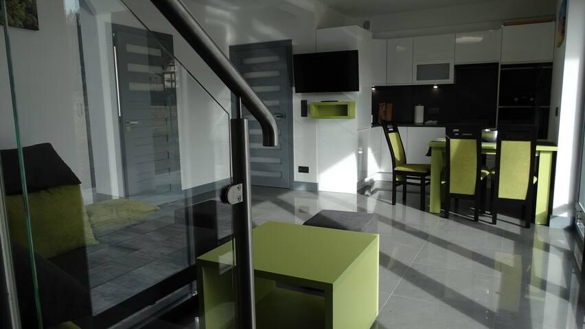 Domino- Apartament GREEN