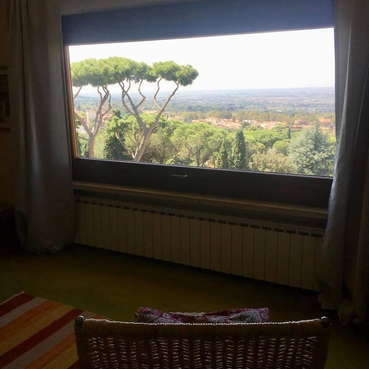 Al Pino B&B - Suite with view on Rome