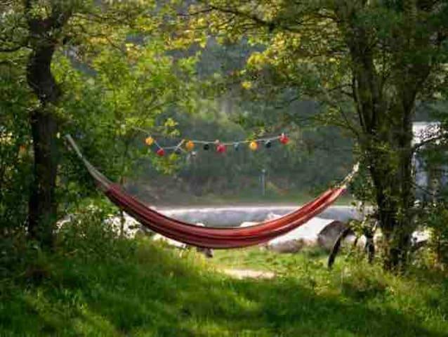 Mooie ruime kampeerplek op Duincamping Geversduin