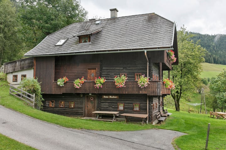 Vintage Holiday Home in Arriach with Private Garden