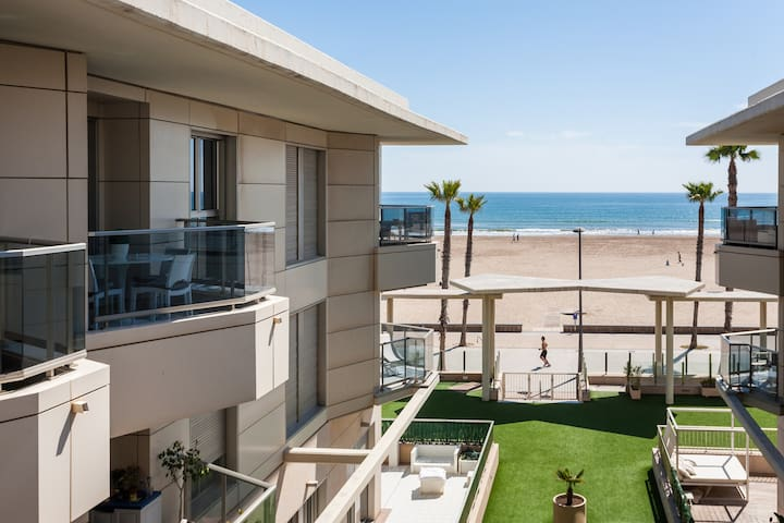 Ideal apartment on Valencia's beach - Alboraia - Apartment