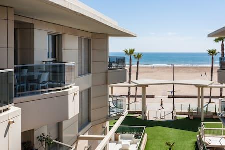 Ideal apartment on Valencia's beach - Alboraia - Wohnung