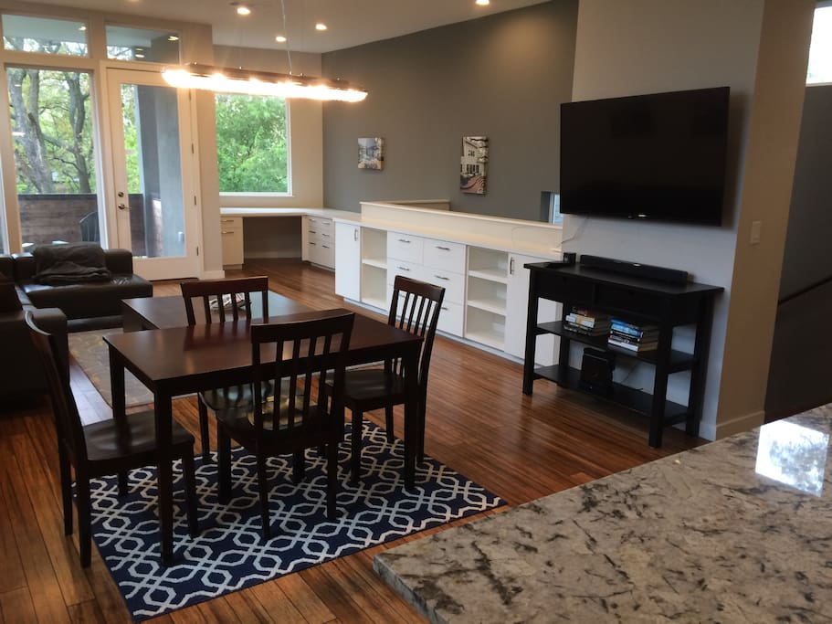 Dining Set and entertainment center