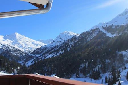 Duplex skis aux pieds Meribel Mottaret - Les Allues
