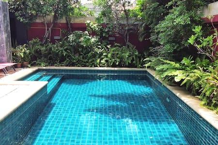 Modern Loft Style 2 bedroom pool villa