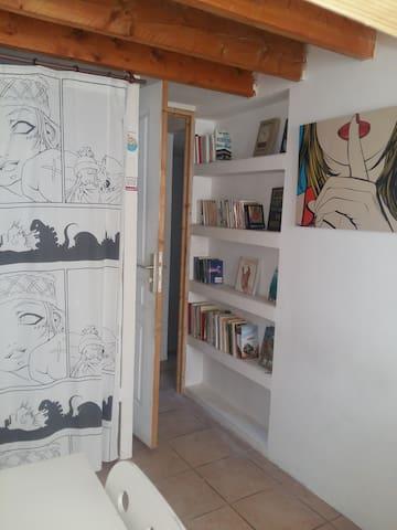 Placard et Bibliothèque de votre chambre (Etage 2)