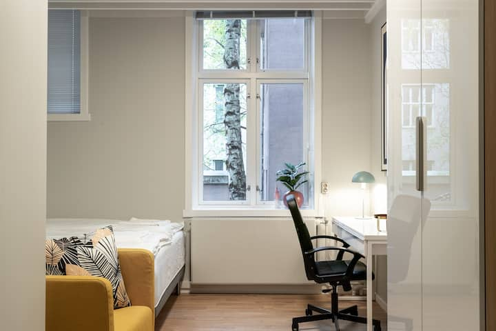Tusse room in the Heart of Oslo! 3 min from castle