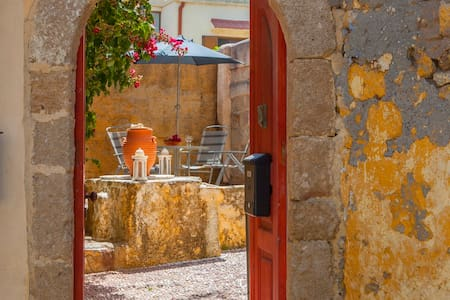 Red Door House-Old Town - Rodos