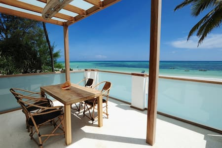 "Junior Suite Apartment "" Mbili "" Ocean Front View - Zanzibar Town - Flat"