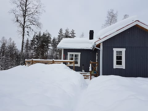 Modern cottage close to ski tracks in Oxberg, Mora