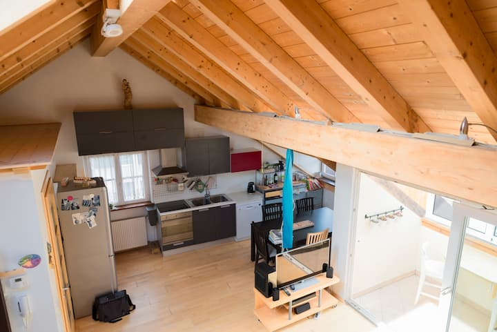 Attic apartment in Cornaiano, Italy