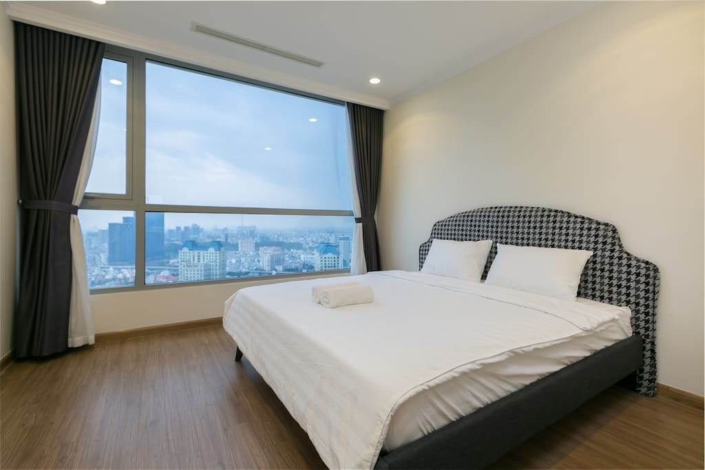 Night View in Saigon of Master bedroom