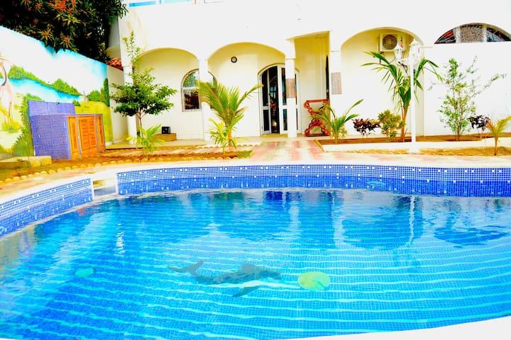 Venusia villa sur 800 m2 avec piscine