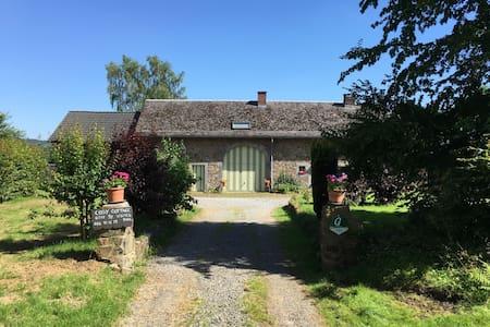 Cosy Cottage vous attend dans notre belle Ardenne! - Érezée - Casa