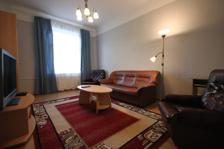 Comfortable apartment in the heart of the city.