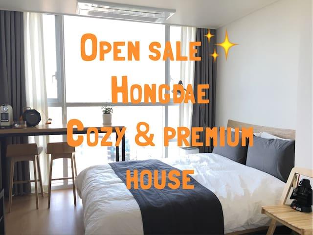 NEW!Riverview,Hongdae,Yeouido,metro1m,portablewifi - Yeongdeungpo-gu - Appartement