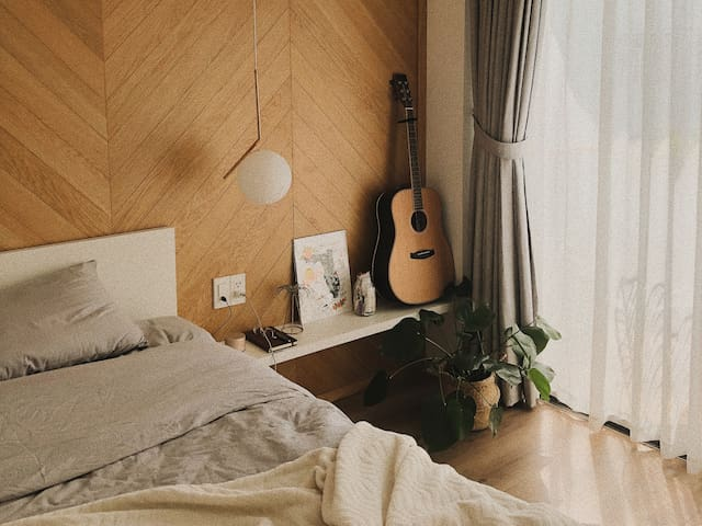The coziest place to rest up after exploring the city