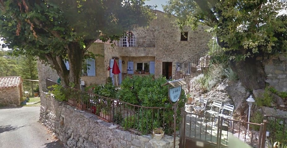 Provençale Farmhouse for 4 people - Seillans - Apartament