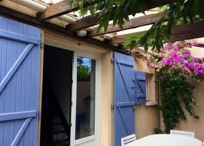 Maisonnette de vacances à la plage - Saint-Cyprien