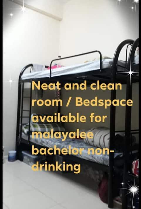 Bedspace near ADCB karama metro AED 600