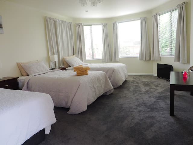 New bedroom for big group with rock-bottom price
