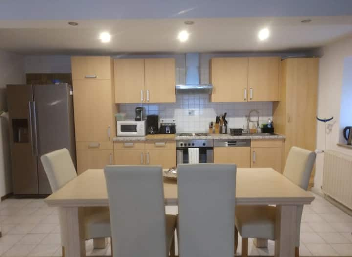 Cosy, ground-floor 2 bed apartment in Mackenbach
