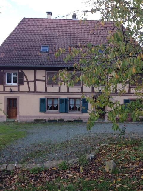 Gîte Au Petit Relais entre Mulhouse et Belfort