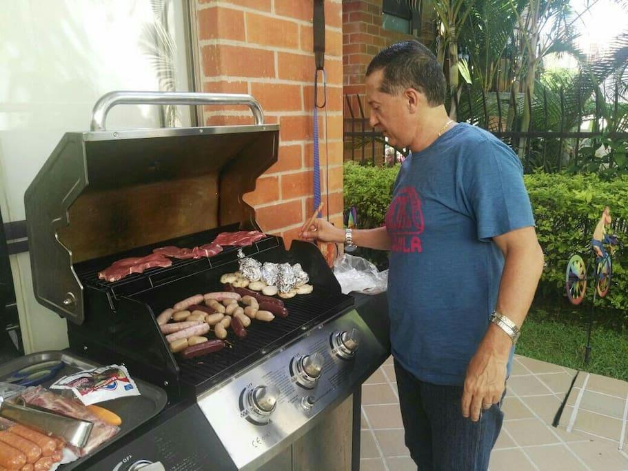 barbecue disponible