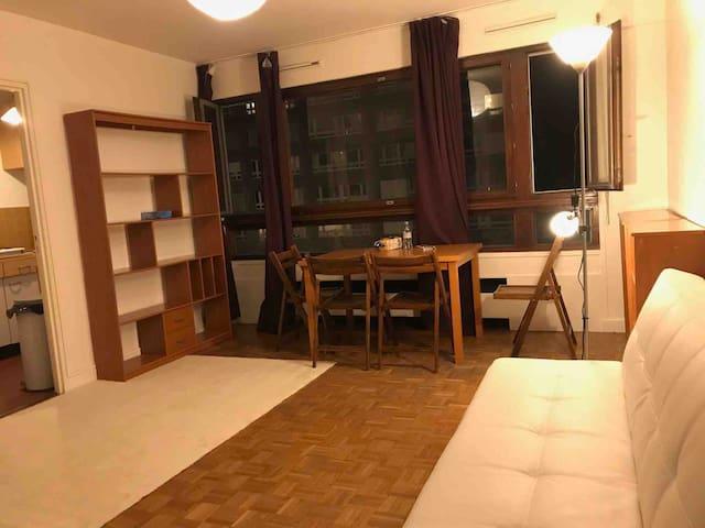 Grand studio de 32 m2 tout équipé