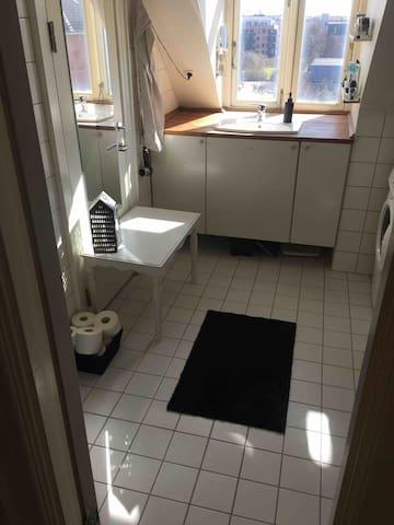 Small room in Copenhagen for one traveler person
