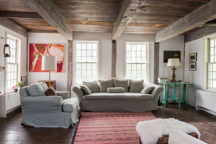 Ancient Dutch cottage