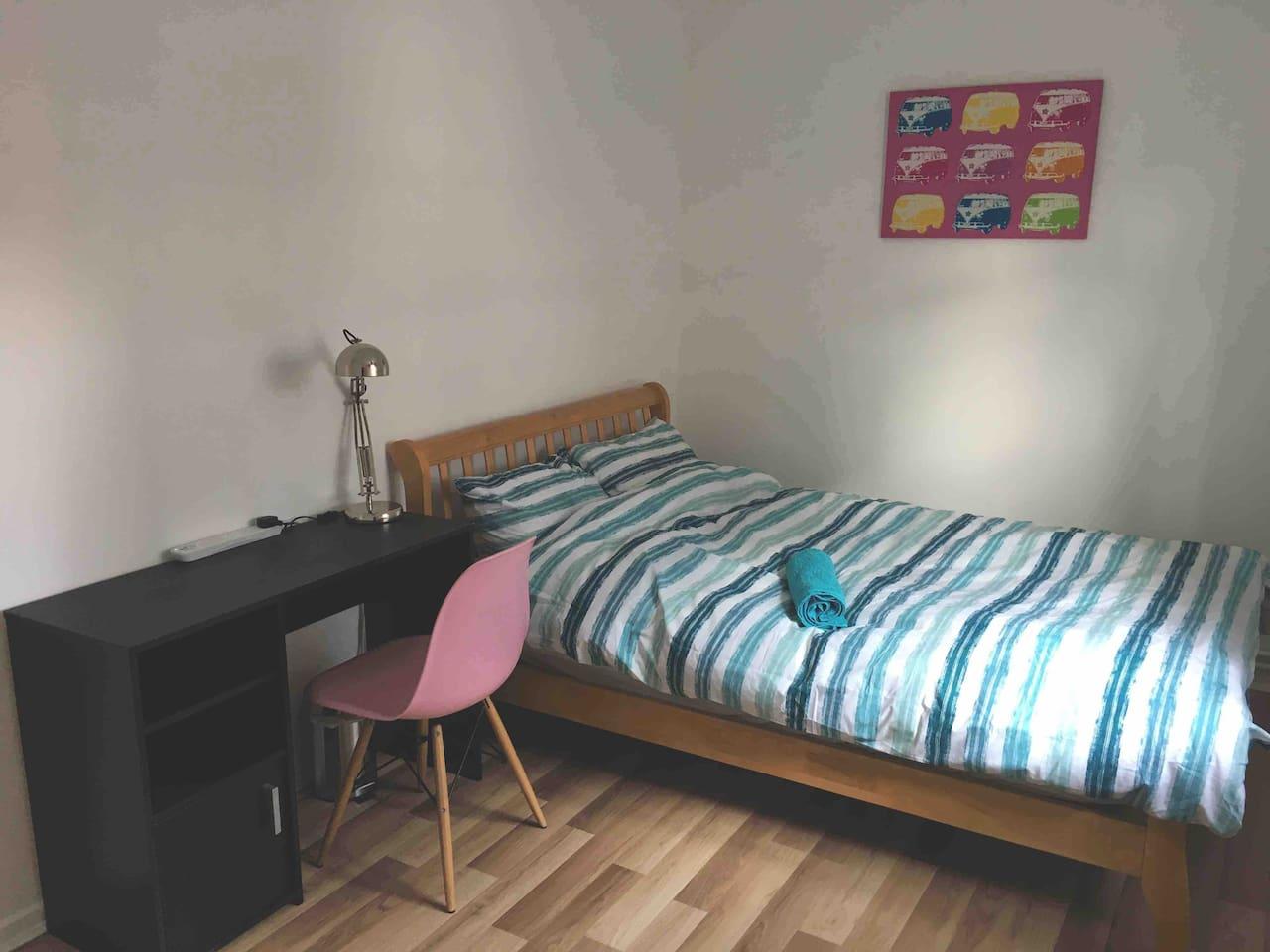 This is your cozy quiet room