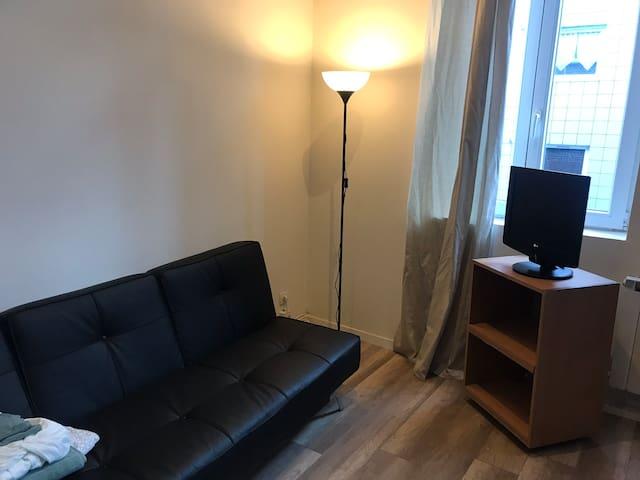 Studio neuf pour 2 personnes Lille quartier Fives