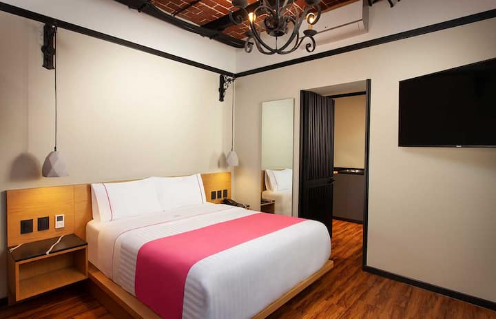 Room with Kitchen Hotel in the Zócalo CDMX