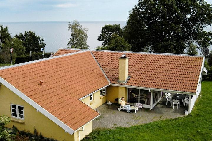 Amplia casa de vacaciones con sauna en Børkop
