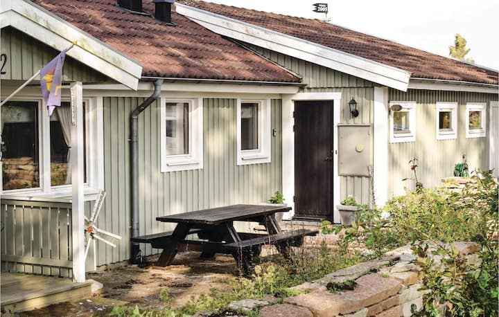 Awesome home in Degerhamn with Sauna and 2 Bedrooms