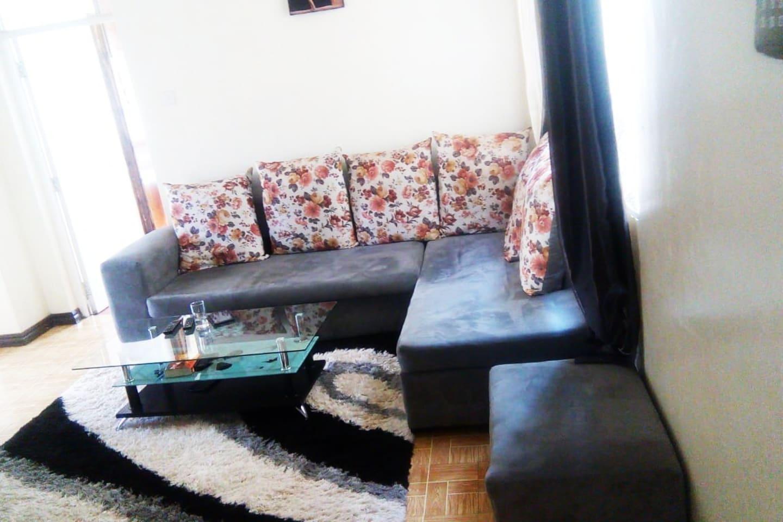 spacious and serene Lounge