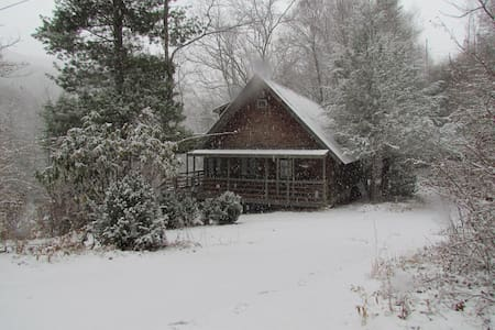 Charming Cabin on the River (great location) - Burnsville - Kulübe
