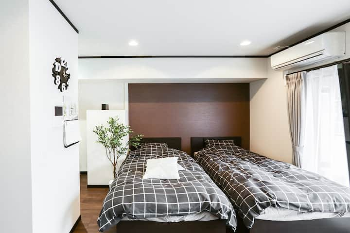 ★(#33★62)Luxury Room in Shinsakae-machi district