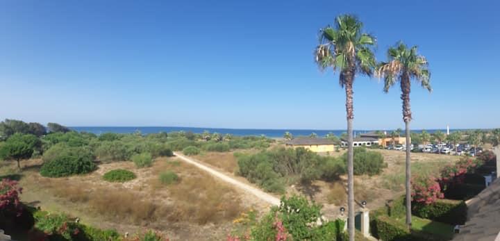 Casa en Primera línea de playa costa ballena