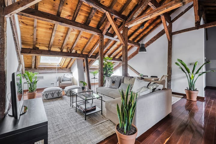 Outstanding Penthouse into a 16th century Palace