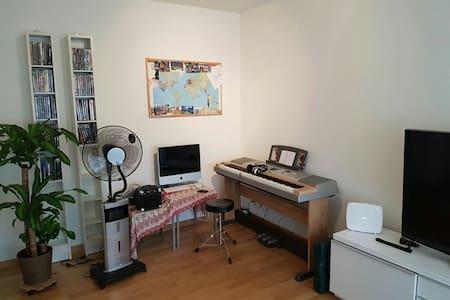 Renovierte Wohnung nahe Flughafen - Condominium
