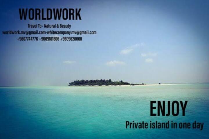 Vovoy beach view - worldwork travels