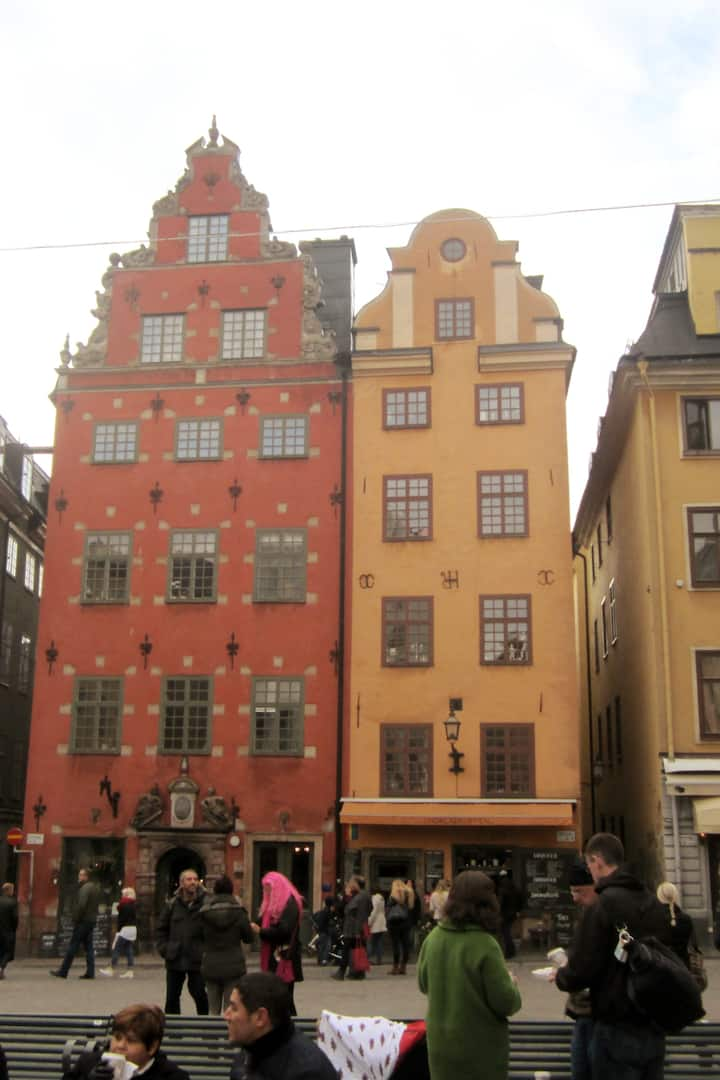 The Iconic Buildings on Stortorget