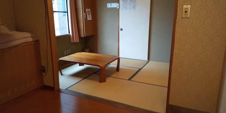 長野駅徒歩5分のゲストハウス内の個室(301)