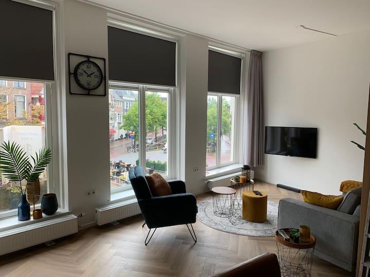 Modern appartement in centrum Leeuwarden