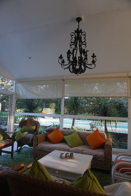 Relax in our stunning      garden room!
