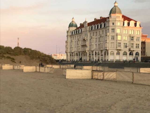 Vakantie in een karaktervol appartement aan zee