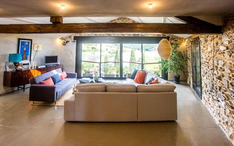 4 Bedroom Wine barn conversion - Faugères - Huis