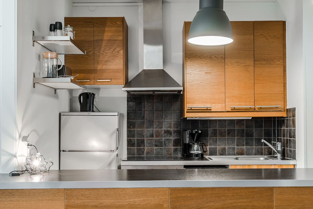 Well equipped and modern kitchen.